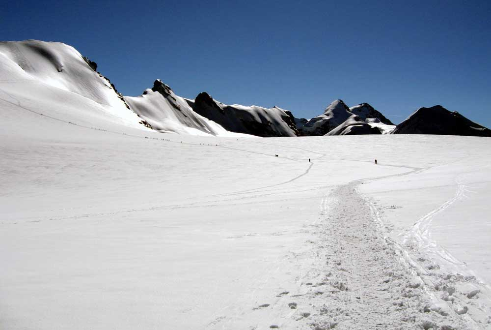 Breithorn Occidentale 4165m